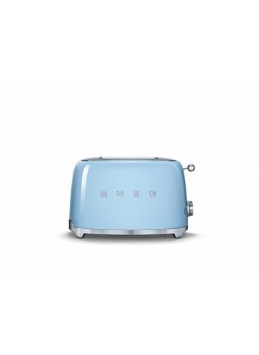 Smeg TSF01PBEU Linea 50's Retro Style Mavi İkili Ekmek Kızartma Makinesi Mavi
